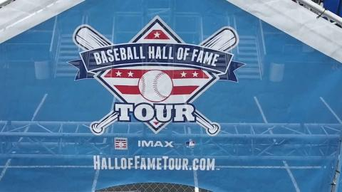 The Baseball Hall of Fame Tour is now in St. Louis