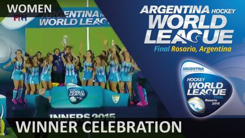 Hockey World League Final 2015 Winners - Argentina #HWL2015 #Rosario