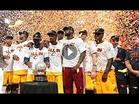 dcba4f9e14c Cleveland Cavaliers Crowned Eastern Conference Champions
