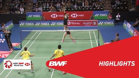 YONEX-SUNRISE DR. AKHILESH DAS GUPTA India Open 2018 | Badminton XD - F - Highlights | BWF 2018