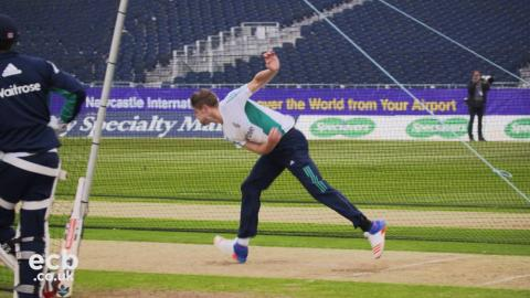 Chris Woakes is back with England