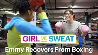 Emmy Blotnick Reviews Gleason's Boxing–Comedians Try Hot New Workouts–SELF's Girl Vs. Sweat