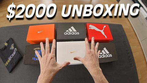 Unboxing 6 Pairs of adidas, Nike & Puma Football Boots