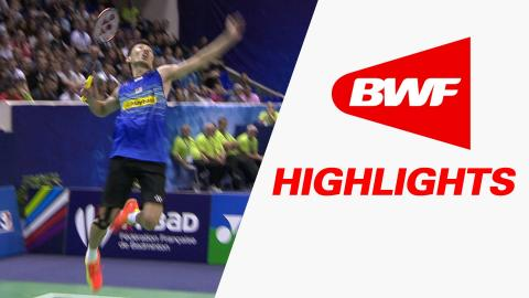 Yonex French Open 2015 | Badminton F – Highlights