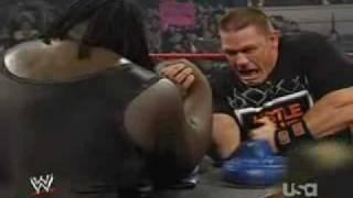 WWE John Cena Vs Mark Henry Arm Wrestling