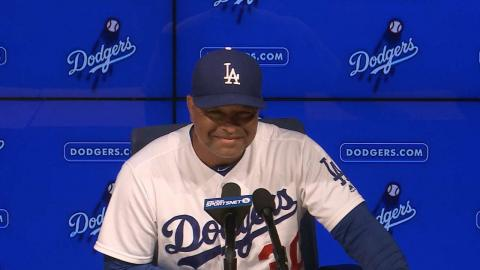 KCA@LAD: Roberts on Maeda's outing, win over Royals