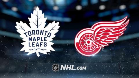 Zetterberg, Red Wings beat Maple Leafs, 3-1
