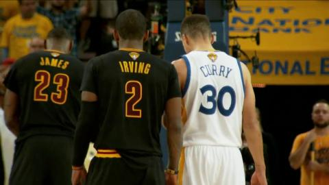 Stephen Curry and Kyrie Irving Handles Duel!