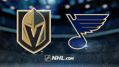 Stastny, Hutton lead Blues past Vegas for 2-1 victory