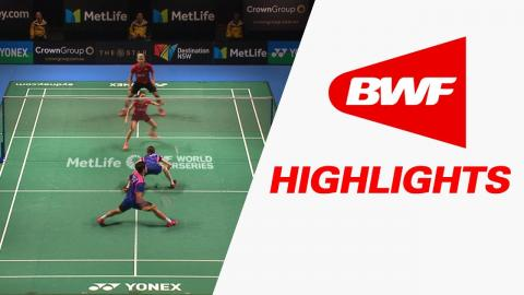 CROWN GROUP Australian Open 2017 | Badminton SF – Highlights