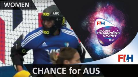 AUS 0-0 ARG Terrific diving stick save from Succi to deny Australia an opener #HCT2016