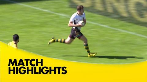 Match Highlights: Plate Semi-Final Round-up - Singha Rugby 7s