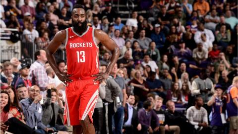 James Harden Named Kia NBA Western Conference Player of the Month | October and November 2017