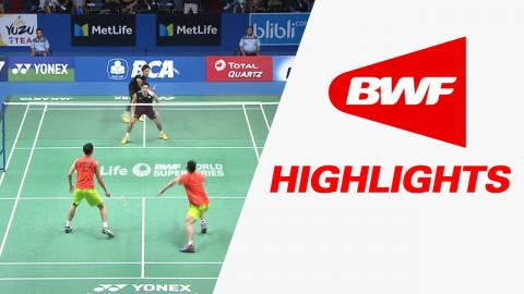 BCA Indonesia Open 2017 | Badminton QF – Highlights