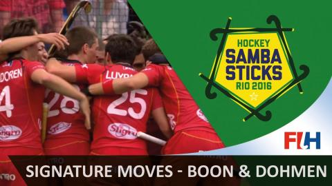 Signature moves - Tom Boon and John-John Dohmen - Hockey at Rio
