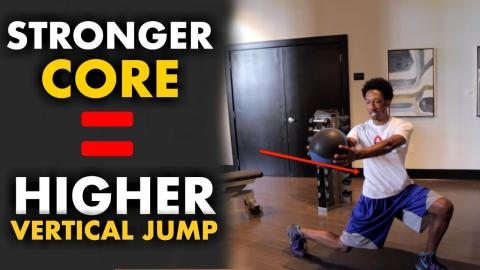 Increase Your Vertical Jump With These 5 Explosive Core Exercises!