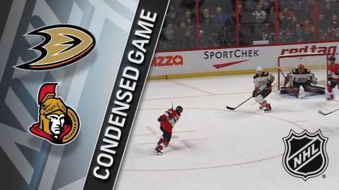 02/01/18 Condensed Game: Ducks @ Senators