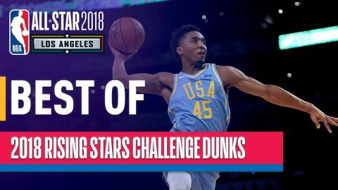BEST DUNKS from the 2018 Rising Stars | Presented by Mtn Dew Kickstart
