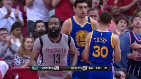 Best Plays of Stephen Curry vs James Harden | 03.28.17