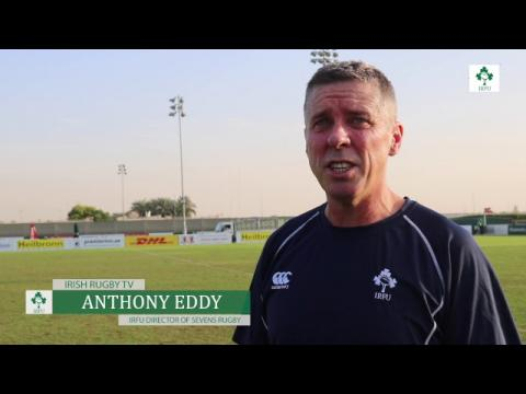 Irish Rugby TV: Lucy Mulhall & Anthony Eddy Preparing For Dubai Sevens
