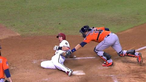 HOU@ARI: Correa nails Goldy at home with strong throw