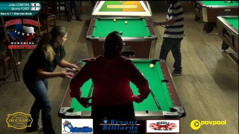 #3 Julie COMINTINI vs Ileana FORD • 2017 Norris Women's 9-Ball