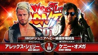 WRESTLING DONTAKU2015  KENNY OMEGA Vs ALEX SHELLY MATCH VTR