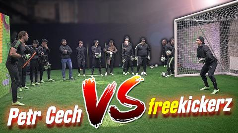 freekickerz vs Petr Čech ft. Giroud - Puma Event 2017