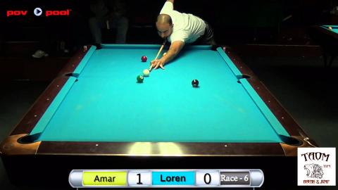 47th Terry Stonier 9 Ball - #8 Amar Kang vs Loren Mah