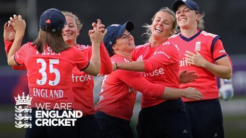 Fantastic batting & fielding leads to England women winning series