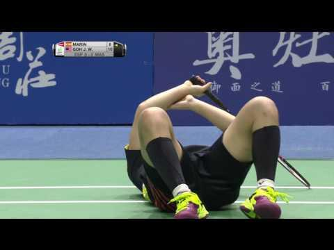 TOTAL BWF Thomas & Uber Cup Finals 2016 | Badminton Day 4/S1-Uber Cup Grp A- ESP vs MAL (Court 2)