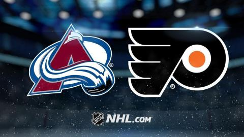 Avalanche top Flyers in shootout, 5-4