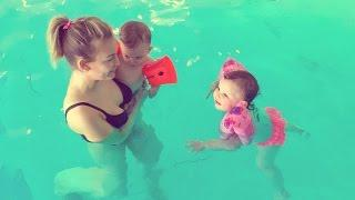SWIMMING WITH KIDS!
