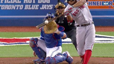 BOS@TOR: Bogaerts' solo shot breaks scoreless tie