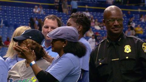 CWS@TB: Rays commemorate community leaders