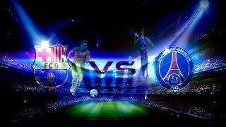 Zagrajmy W Pro Evolution Soccer 2013 - Liga Mistrzów: Faza Grupowa: PSG VS FC Barcelona