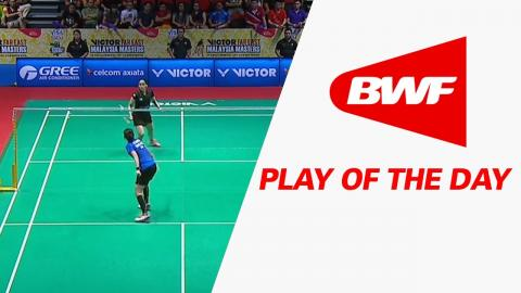 Play Of The Day | Badminton F - Victor Far East Malaysia Masters 2017