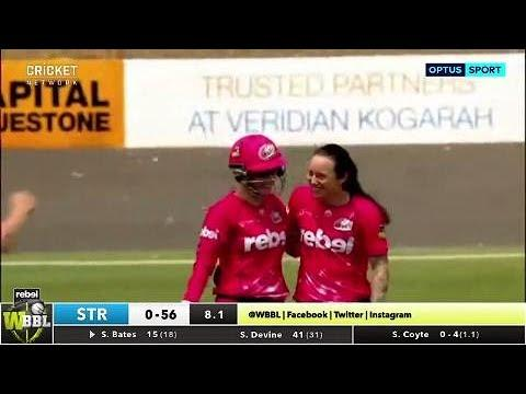 Sydney Sixers v Adelaide Strikers, WBBL|03