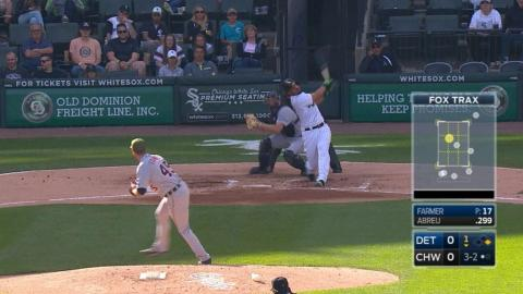 DET@CWS: Watch Farmer strike out 11 in 11 seconds