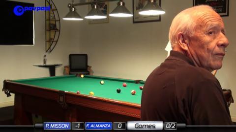 #1b • Frank Almanza vs Phil Misson • James Boch's One Pocket Challenge