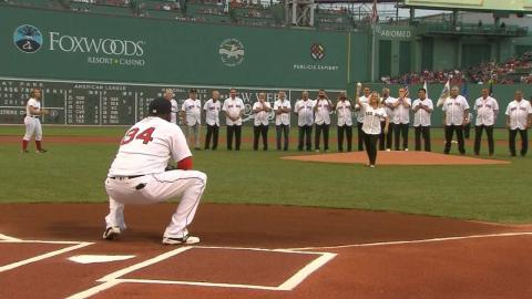 COL@BOS: Red Sox honor 30th anniversary of 1986 team