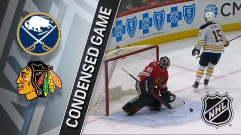 12/08/17 Condensed Game: Sabres @ Blackhawks
