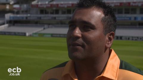 Samit Patel on England newcomer Jake Ball