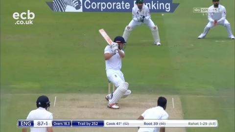 Chris Woakes 6-70, Alastair Cook 81, Yasir Shah 5-64 - Lord's highlights