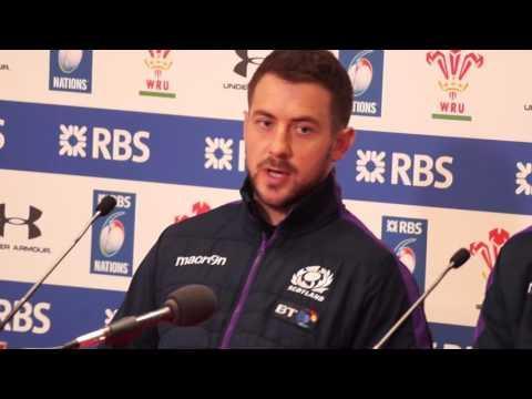 Scotland Press Conference post match v Wales