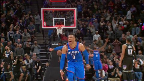 Tissot Buzzer Beater: Russell Westbrook Wins It For The Thunder At The Buzzer!!!   February 22, 2018