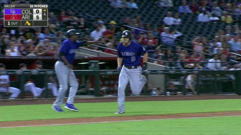 COL@ARI: CarGo hammers an RBI double off the wall
