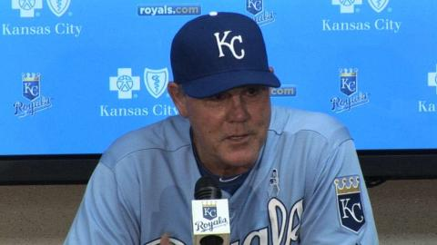 BOS@KC: Yost on tough loss to Red Sox