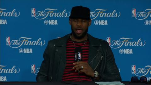 LeBron James NBA Finals Game 5 Press Conference