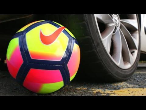 CAR VS. FOOTBALL!! (Shin Pads & Football Boots)